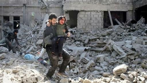 Konflik Ghouta: Persekongkolan Keji Ideologi Kufur Melawan Islam