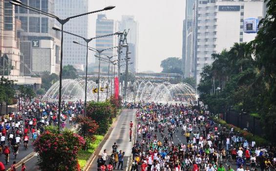Momen Car Free Day : Lahan Stategis untuk Menebar Kebaikan