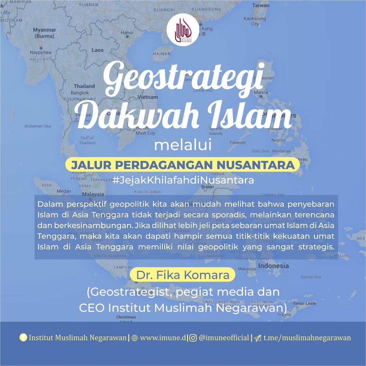 Geostrategi Dakwah Islam melalui Jalur Perdagangan Nusantara